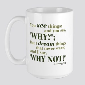 Shaw Quote No. 3 Large Mug